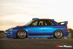 "WEDS Maverick 710S - Subaru STI 04 Blue • <a style=""font-size:0.8em;"" href=""http://www.flickr.com/photos/64399356@N08/26474370475/"" target=""_blank"">View on Flickr</a>"