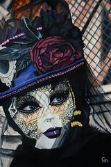 DSC_5359 (geertjandebont.nl) Tags: venice art painting artist mask schilderij venetian masked zwart venezia venedig venetie paars masker geschilderd wwwgeertjandebontnl wwwgeertjandebontcom