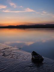 dancing with boat-4190145 (E.........'s Diary) Tags: sunset reflection river scotland fife calm tay eddie newburgh rossolympusomdem5markiiscotlandapril2016newbur rossolympusomdem5markiiscotlandapril2016newburghfifespring