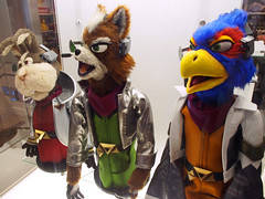 Star Fox Event (Steven Bornholtz) Tags: new york city nyc usa ny rock america photography star us display manhattan space united steve nintendo muppets picture games olympus center midtown indoors videogames event puppets fox steven rockefeller midway electronic zero pilots peppy imagery falco 2016 nintendoworldstore sates ep5 bornholtz djmidway nintendonyc nuppets