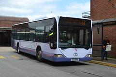First Mercedes 64016 OIG6946 - Winchester (dwb transport photos) Tags: bus first mercedesbenz winchester citaro oig6946