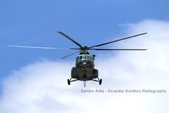 E-484 (Sandro Rota - Ecuador Aviation Photography) Tags: quito ecuador ecuatoriano spotting helicoptero mil ejercito aviacion mi17 ecuadoraviationphotography