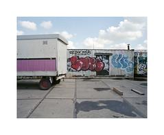 ** (ha*voc) Tags: urban 120 film amsterdam mediumformat urbandecay rangefinder 6x7 urbanfragments 65mm mamiya7ii lomo800