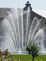 Bad Kissingen (High Castle) Tags: park nature water fountain spring wasser springbrunnen brunnen natur bad frhling kurpark kissingen