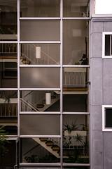 Watch Me Climb (vaneebs) Tags: seattle street travel window architecture stairs buildings washington human