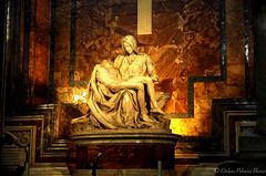 La Piedad de Miguel Angel, Vaticano (estebanjvr) Tags: italy escultura vaticano miguelangel piedad piet