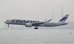"Airbus, A350-941, OH-LWC, ""Finnair"", VHHH, Hong Kong (Daryl Chapman Photography) Tags: china sky plane canon hongkong fly flying is aviation great flight finnair landing daryl ii 1d planes airbus ay arrival dslr fin departure f28 hkg sar 020 chapman clk mkiv planespotting cheklapkok hkia a359 commercialaviation 70200l civilaviation hongkonginternationalairport a350 vhhh 25r ay69 a350941 ay069 aviationnut hongkongspotters ohlwc"