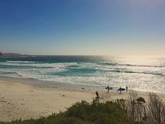 High Tide (Travis Modisette) Tags: ocean california surf waves surfing carmel surfers centralcoast hightide bythesea