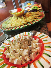 Food Arrangements (shaire productions) Tags: world travel cruise food green vegetables river photo ship tour image egypt picture nile photograph meal edible arrangements contikitour nilecruise contikiegypt contikiegyptthenile