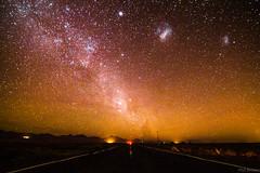 Atacama Desert under the stars (PhilBrownM) Tags: chile longexposure sky night stars outside noche outdoor space galaxy estrellas skylights sanpedrodeatacama milkyway canont3 canon1100d chiledesert