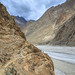 Mountainside Trail To Jula, K2 Base Camp Trek, Central Karakoram National Park, Gilgit-Baltistan, Pakistan