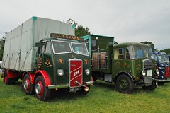 ERF & AEC at Onslow Park (Ben Matthews1992) Tags: park old uk england classic truck vintage wagon shropshire britain rally great transport chinese historic steam shrewsbury lorry birkenhead commercial brewery vehicle mk2 british trucks erf preserved six ales 1947 preservation flatbed waggon lorries onslow matador haulage aec 2015 c16 dray salop cosses mkll sheeted ci6 mbb222 bg9503 onslowpark2015