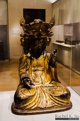 Bodhisattva (Korea), Metropolitan Museum of Art, New York City (InSapphoWeTrust) Tags: usa newyork us asia unitedstates manhattan unitedstatesofamerica buddhism korea northamerica themet uppereastside metropolitanmuseumofart