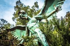An iron sculpture by Ben Dale; Bisbee, AZ.