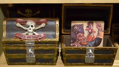 Disneyland Visit - 2016-01-24 - World of Disney - Collectibles - Pirates of the Caribbean Treasure Chest (drj1828) Tags: california disneyland visit anaheim dlr piratesofthecaribbean downtowndisney 2016 worldofdisney