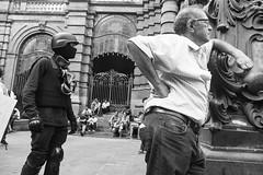 Ato contra o aumento da tarifa do transporte (SP) - R$ 3,80 NO! (Paulo Octavio) Tags: people bw 3 sp 80 no policia violencia tarifa protesto aumento governo