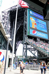 There's the roof (NJ Baseball) Tags: seattle washington mariners safecofield seattlemariners americanleague 2015 daygame majorleagues