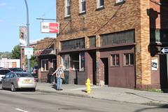 Dugan's and Laundromat, Jamestown, NY (joseph a) Tags: newyork bar storefront laundromat jamestown chautauquacounty