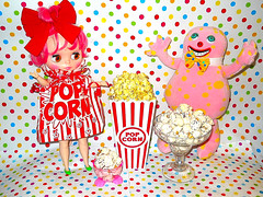Natty McFatty and Mr. Blobby wish you all a Happy National Pop Corn Day!!!!