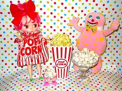 Natty McFatty and Mr. Blobby wish you all a Happy National Pop Corn Day!!!!