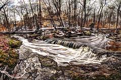 Bear brook Atkins Glen Park New Jersey (Chip Renner) Tags: panorama water photoshop historic waterfalls hdr parkridge woodclifflake photomatix bearbrook atkinsglen atkinsglenpark