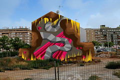 carrer-francisco-llacer-plla (bezembinder) Tags: art graffiti wallpainting bezembinder