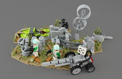 Spying in the Lab Ruins (David FNJ) Tags: ruins lab lego scene scifi
