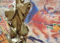 MoMA (KaDeWeGirl) Tags: newyorkcity sculpture color art museum modern painting manhattan moma midtown
