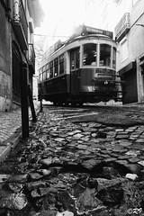 Tram (Ghoul-Seine) Tags: world voyage city travel blackandwhite white black color portugal landscape lisboa sony journey rx100 ghoulseine ramjanally sonydscrx100