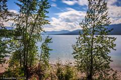 Lake McDonald Through the Trees (Samantha Decker) Tags: longexposure montana mt nps nd glaciernationalpark lakemcdonald neutraldensity canonef1635mmf28liiusm canoneos6d samanthadecker
