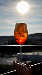 one from my memories with brother <3 (Majka Kmecova) Tags: summer italy orange sun love ice relax drink brother cocktail slovakia cocktailparty bratislava seltzer prosecco aperol orangeslices aperolspritz italianaperitifcocktail