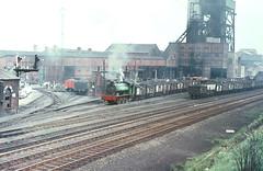 NCB North Yorks Area, Fryston 28/05/1970 (Keith Halton) Tags: tank yorkshire railway steam saddle colliery ncb rsh austerity