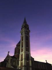 Basilica di Santa Maria di Lourdes ( Milano ) (lefotodiannae) Tags: santa italia colore alba maria milano chiesa campanile di lourdes lefotodiannae