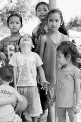 (kuuan) Tags: bw kids fun village play vietnam vilage