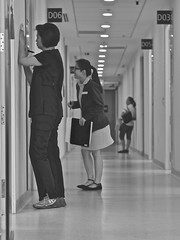 caring (mohamedyamin_masop) Tags: people hospital panasonic health doctor nurse caring clinic caregiver gm5