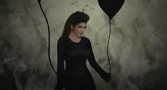 Unknown (epic.content) Tags: dark smoke gothic balloon emo unknown joker agnes obel