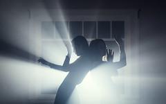 Dancers. (David Talley) Tags: light window fog alien atmosphere science scifi rays aerosol lightrays atmosphereaerosol