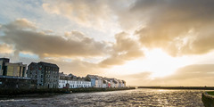 Galway (Iigo Herrero G. A.) Tags: ireland light sunset cloud sun galway irlanda