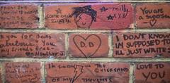 Jimmy C's David Bowie Wall - Walls Of Words (cocabeenslinky) Tags: street city uk england urban streetart david london art wall lumix photography graffiti james bowie words artist photos c united capital jimmy north kingdom panasonic walls graff february brixton cochran artiste 2016 morleys of dmcg6 cocabeenslinky