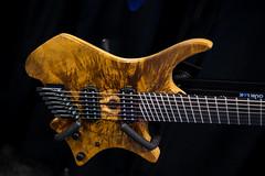 Strandberg Boden Custom Koa (paul_ouzounov) Tags: musician music shop guitar bare knuckle guitars jackson custom esp prs namm kiesel 2016 carvin strandberg aristides zeiss55mm sonya7 namm2016