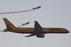 A9C-DHE B757-200F with G-JINX and G-ZWIP Twisters (JaffaPix .... +2.5 million views, thanks!) Tags: airplane aircraft aviation aeroplane cargo airshow boeing es twister 757 freighter dhl b757 dhx b752 757f b757200f dhlbahrain bahrainairshow bahraininternationalairshow silencesa1100 dhlinternational dhlaviation gzwip jaffapix obkh a9cdhe gjinx davejefferys jaffapixcom dhltwisterteam bahraininternationalairshow2016