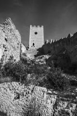 Castello (DarioMarulli) Tags: bw italy castle monocromo italia castello biancoenero abruzzo medioevo laquila