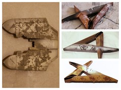 Salt Weathering Test. (jaqio) Tags: weather model paint kits gundam