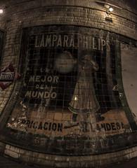 Metro Chamberi Publicidad (Javier Balanzat Duque) Tags: madrid old españa cerrado viejo antiguo cartel abandono metromadrid chamberi alicatado bsfilms javierbalanzat