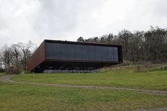 Keltenmuseum Glauberg (ULF72) Tags: museum modern moderne architektur corten glauberg kelten glauburg keltenmuseum kortenstahl corstenstahl
