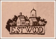 Eastwood, Nottinghamshire's ancient church of circa 1171 as depicted in a tapestry of 1632. (Lenton Sands) Tags: church victoriaandalbertmuseum weaver tapestry eastwood rampton 1171 ancientchurch papalbull mistressmaryeyre