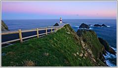 Cabo Ortegal (f@gra) Tags: costa lighthouse marina landscape faro coast spain cabo marine exposure sony paisaje galicia cape larga ortegal