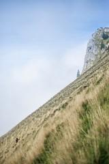 (Dark Flash) Tags: sky mountain sarah montagne switzerland long suisse hiking walk climbing jonas raide