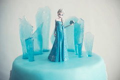 Tarta - Elsa - isslott narbild WEB (manuel ek) Tags: birthday cake frost decoration disney birthdaycake linda elsa icecastle cupcakedream