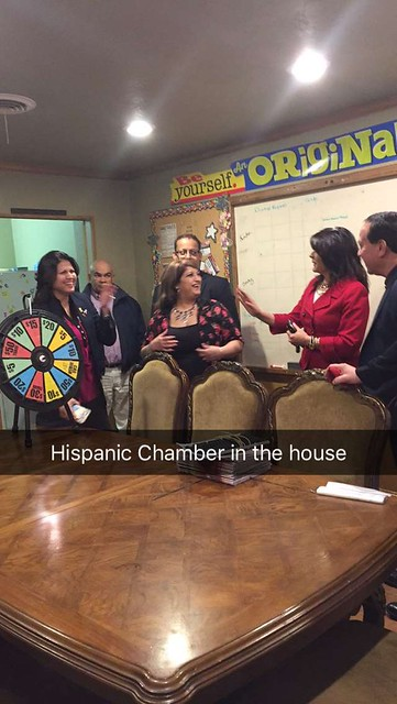 Ribbon Cutting with Amarillo Hispanic Chamber of Commerce 2-12-16
